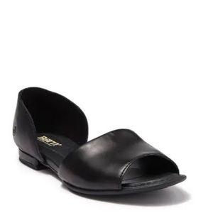 NWOT*Born Black D'Orsay Sandals